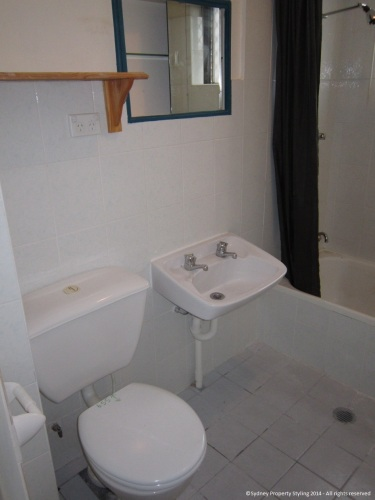 Bathroom Renovation - Manly - April 2014 Before 2