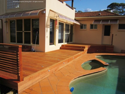 Exterior Renovation - Frenchs Forest - May 2013 - WIP 08 - Decking with finished skirting