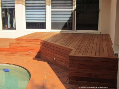 Exterior Renovation - Frenchs Forest - May 2013 - WIP 09 - Decking with finished skirting