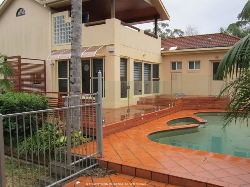 Exterior Renovation - Frenchs Forest - May 2013 - WIP 11 - Clear fencing added
