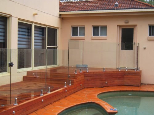 Exterior Renovation - Frenchs Forest - May 2013 - WIP 12 - Clear fencing added
