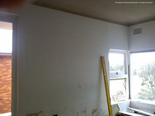 Unit Renovation - Cronulla - February 2014 - Before 1 - wall to be replaced by window