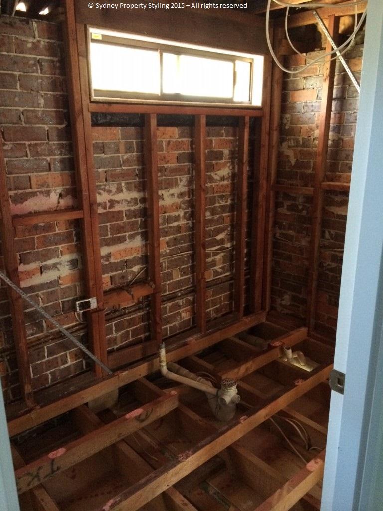 Bathroom Renovation - Westleigh - March 2015 - Progress 01