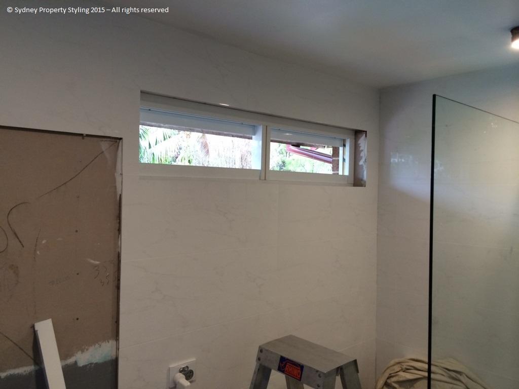 Bathroom Renovation - Westleigh - March 2015 - Progress 04