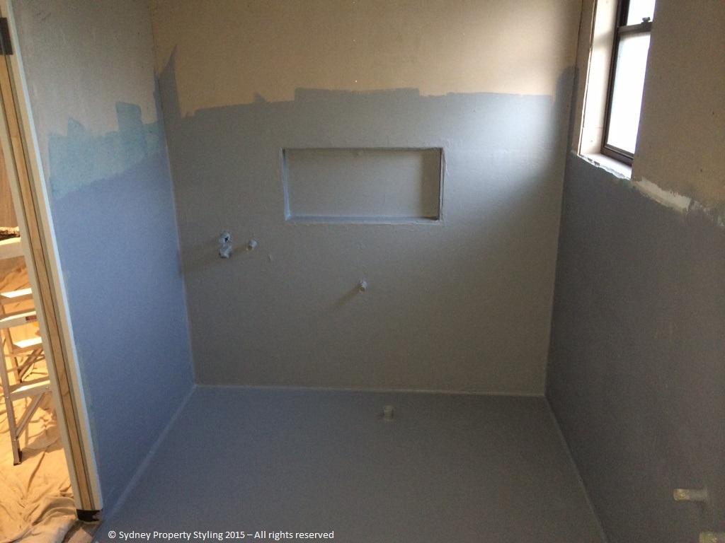Bathroom Renovation - Westleigh - March 2015 - Progress 06