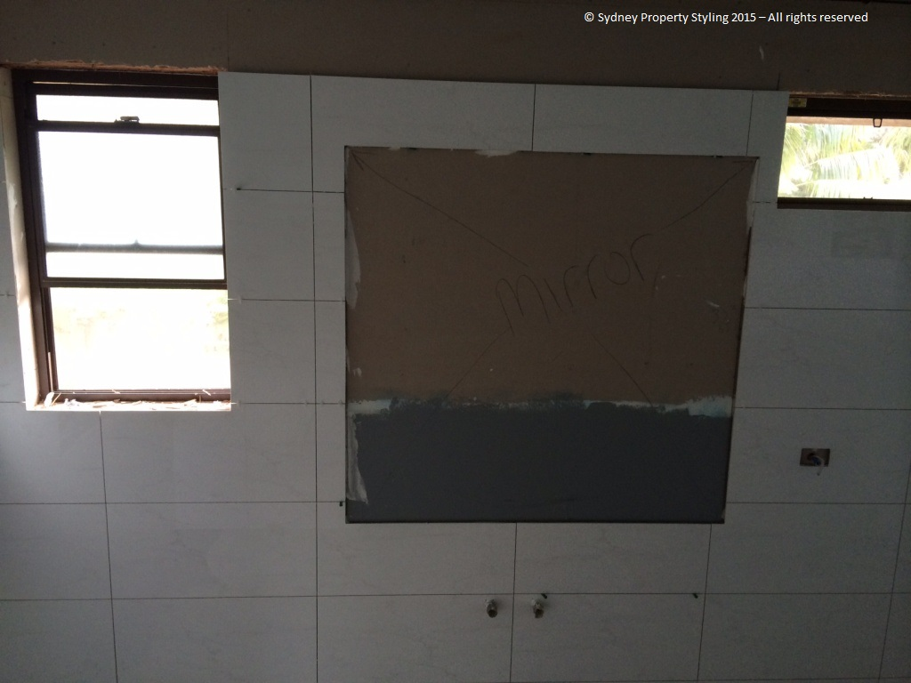 Bathroom Renovation - Westleigh - March 2015 - Progress 09