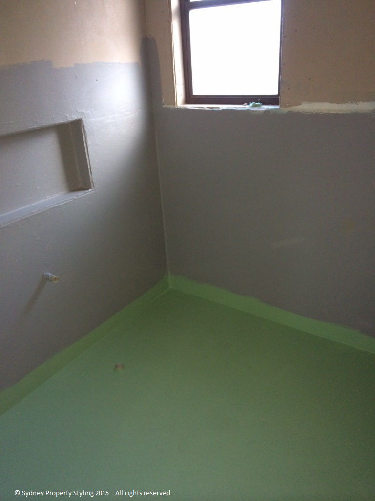 Bathroom Renovation - Westleigh - March 2015 - Progress 07