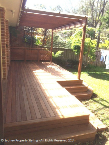 Timber Deck and Pergola - Thornleigh - June 2014 After 1