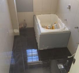 Bathroom Renovation - Manly - June 2015 - Progress 4