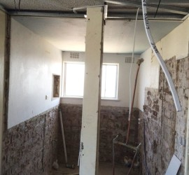 Bathroom Renovation - McMahons-Point - September 2015 - Progress 2