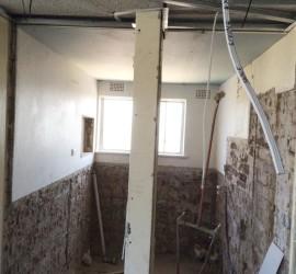 Bathroom Renovation - McMahons-Point - September 2015 - Progress 2