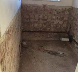 Bathroom Renovation - McMahons-Point - September 2015 - Progress 3