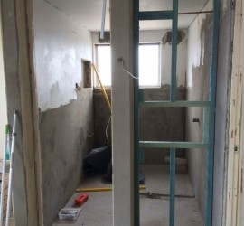 Bathroom Renovation - McMahons-Point - September 2015 - Progress 5