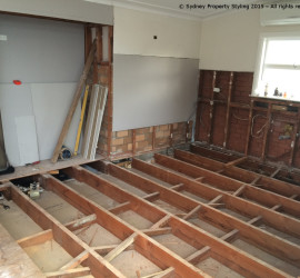 Kitchen Renovation - Caringbah - August 2015 - Progress 2